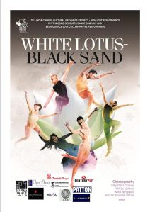 White Lotus Black Sand